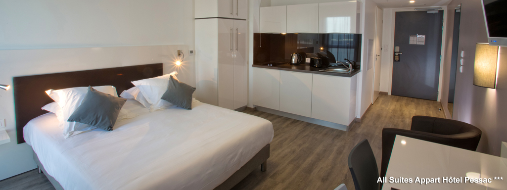 All Suites Appart Hotel Bordeaux Pessac ***