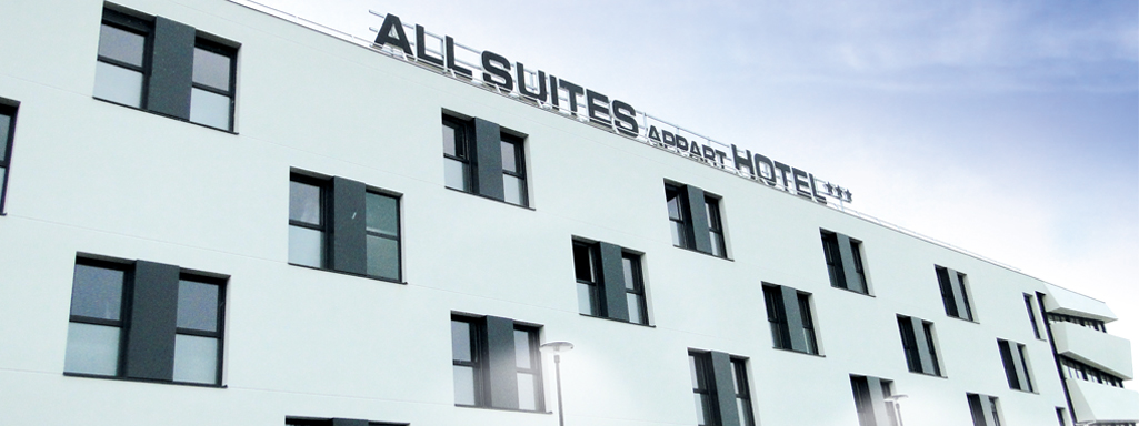 All Suites Appart Hotel Bordeaux-Pessac ***
