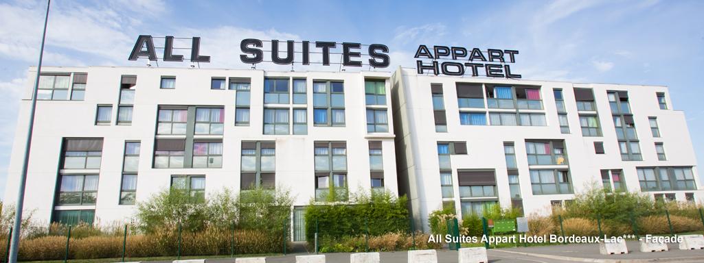 All suites appart hotel bordeaux lac for Appart hotel bordeaux centre