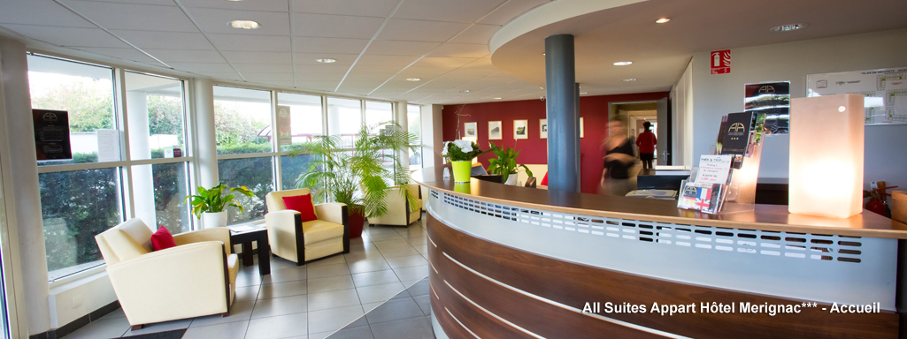 All suites appart hotel bordeaux m rignac for Hotel appart bordeaux