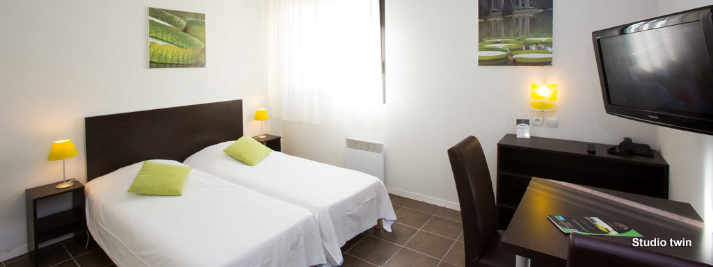 All suites appart hotel pau for Appart hotel var