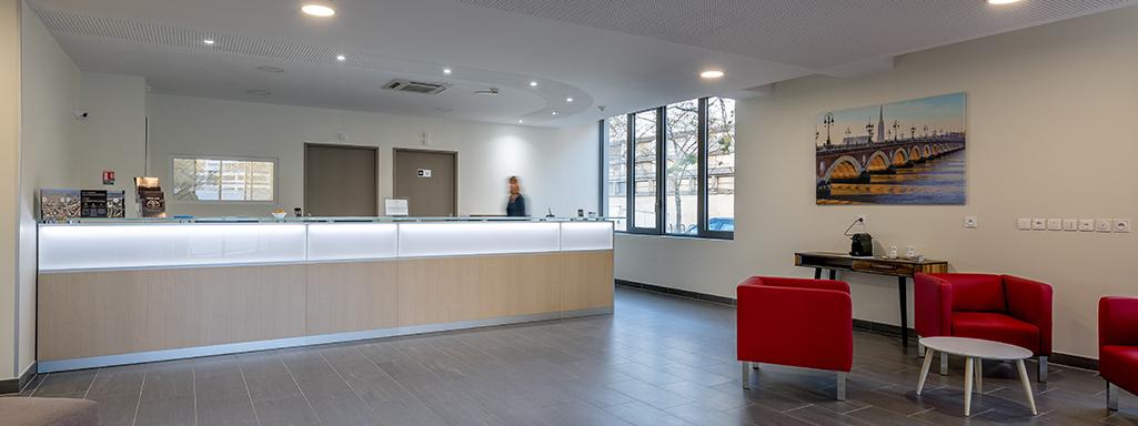 All suites appart h tel bordeaux marne for Appart hotel bordeaux