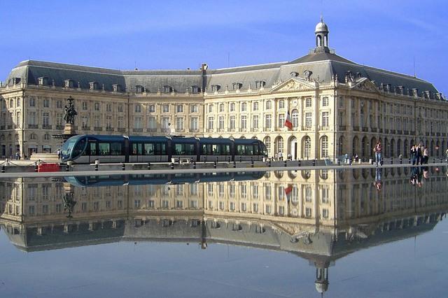 Bordeaux best european touristic destination 2015 for Miroir d eau