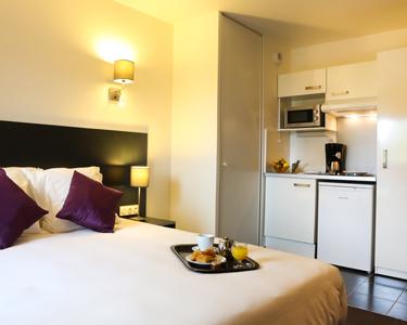 All suites appart h tel le meilleur de l 39 accueil et du for Appart hotel long sejour bordeaux